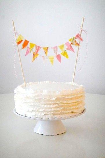 Decorazioni torta nuziale shebby chic