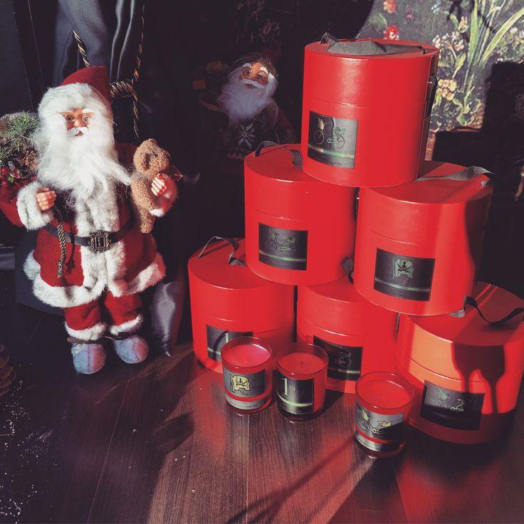 #jovoy #paris #christmas #gifts #candles #santaclaus at #rosinaperfumery #athens