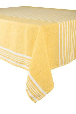 6 coloris disponibles - Harmony - Nappe en lin lavé Linea - 100% lin lavé stone wash