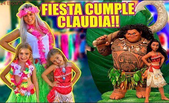 FIESTA CUMPLEAÑOS CLAUDIA VAIANA !! Itarte Vlogs