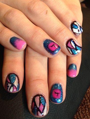 John Deere Girl by veeahsworld - Nail Art Gallery nailartgallery.nailsmag.com by Nails Magazine www.nailsmag.com #nailart