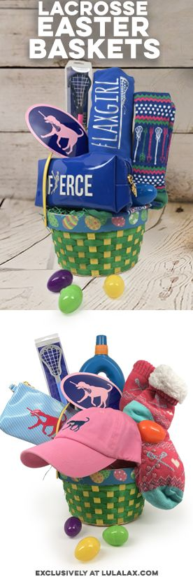 Your lax girl will love our Lacrosse Easter baskets! Filled with exclusive LuLaLax gifts that she is sure to love, we know it will make a great surprise this Easter!