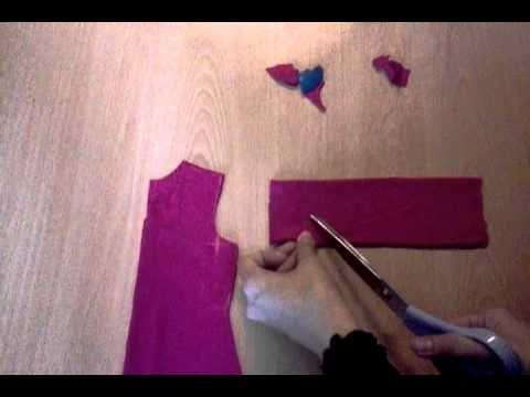 Teknik menjahit jubah:potong lengan jubah