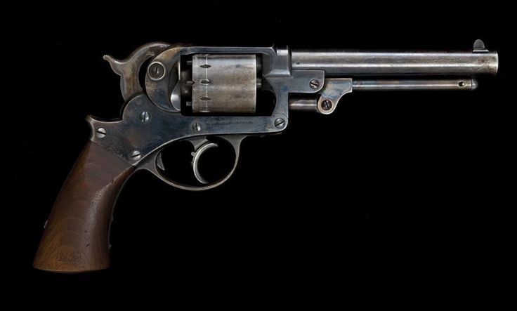 Starr Arms Co. Double Action 1858 Army Revolver. From The ...
