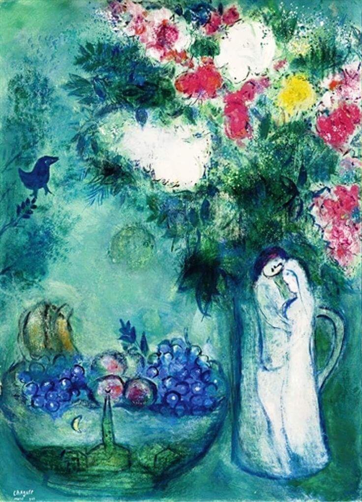 Les 458 meilleures images du tableau marc chagall sur for Chagall tableau