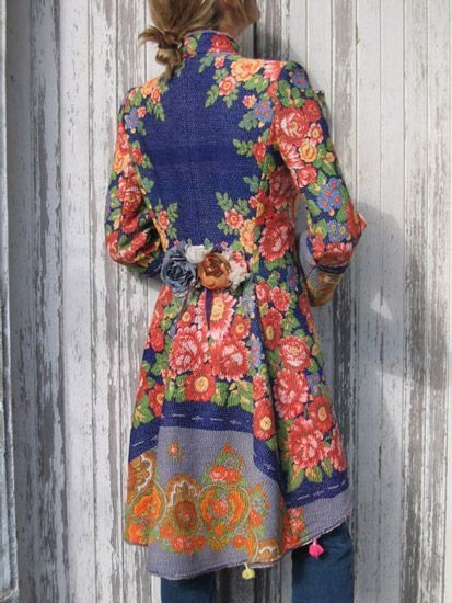 Indalia Fashion - Asian and Italian fabrics combined with Italian tailoring: