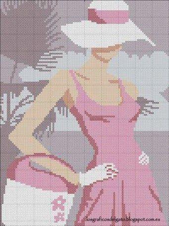 lgg+dama+sombrero+y+bolso.jpg (341×454)