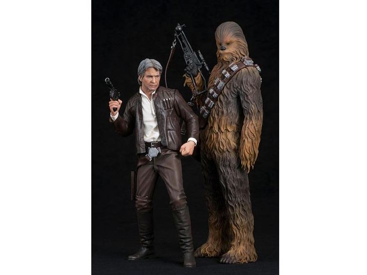 Star Wars Episode VII ArtFX+ Statue - Han Solo & Chewbacca Two Pack - Star Wars Star Wars: Episode VII The Force Awakens (2015) Statues