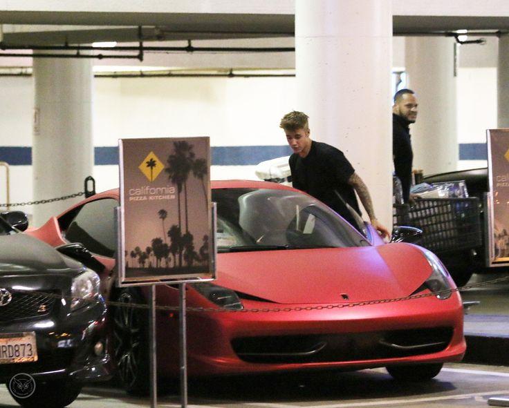 Justin Bieber Ferrari 458 Italia Liberty Walk MATE RED (West Coast Customs)