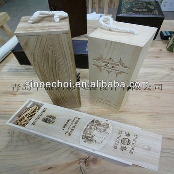 cheap custom wooden box wholesale
