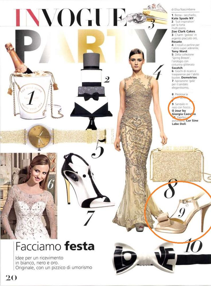 O Jour on Vogue Sposa, May 2015