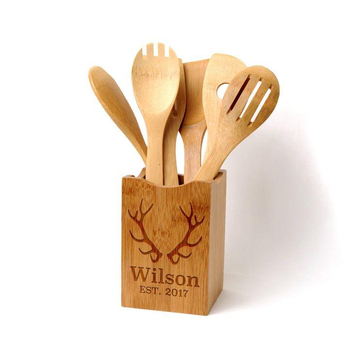 Rustic Kitchen Utensil Holder: 25+ Best Ideas About Kitchen Utensil Holder On Pinterest