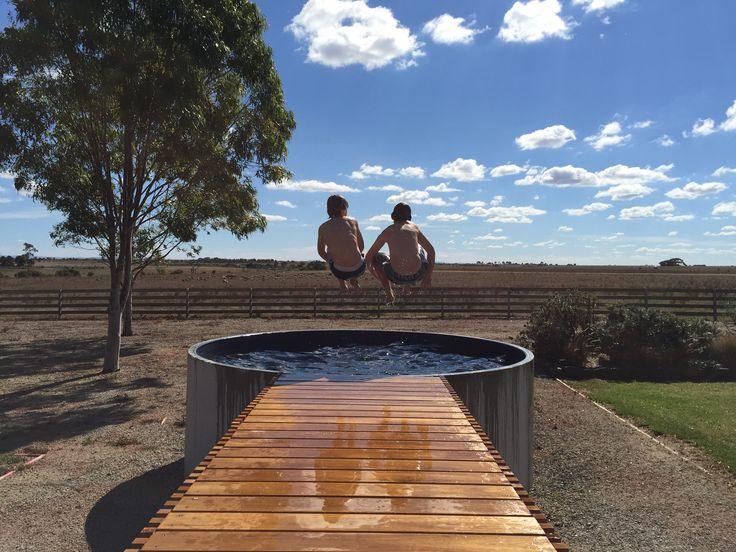 Australian Plunge Pool Fun!