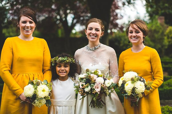 Mustard yellow bridesmaid dresses | Mustard Yellow Color Palette with S6 Photography via @Love My Dress and featured on TahoeUnveiled.com