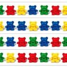 Patterning strips to use with Red, Yellow, Green, and Blue Teddy Bear counters...