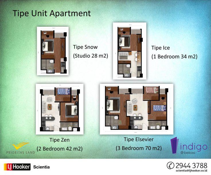 Indigo Apartment @ Bekasi Barat by Prioritas Land Indonesia