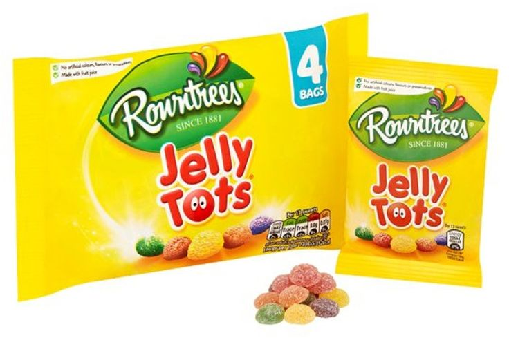 Rowntrees Jelly Tots 5 Packs Bulk Wholesale