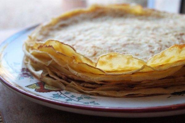 Crêpes de la Chandeleur (Candlemas Pancakes) for Candlemas Day