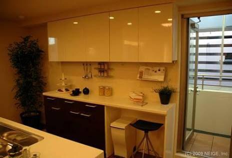 Image result for 食器棚 ゴミ箱スペース