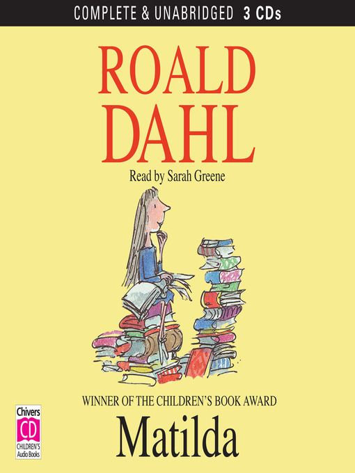 Matilda, a brilliant, sensitive little girl, uses her talents and ingenuity to seek revenge on her crooked father, lazy mother, and the terrifying Miss Trunchbull, her wicked headmistress, and save her beloved teacher, Miss Honey. Available from WVDELI and all MCPLS branches.