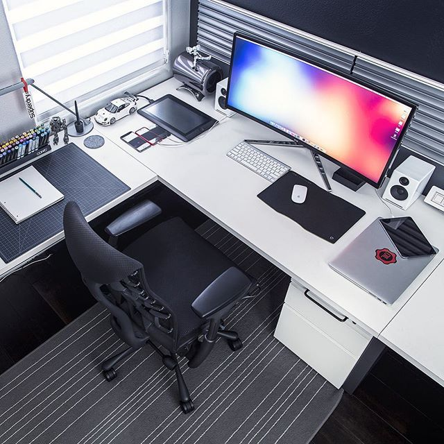Instagram Likes · Work SpacesOffice SpacesSmall OfficeOffice SetupPc ...