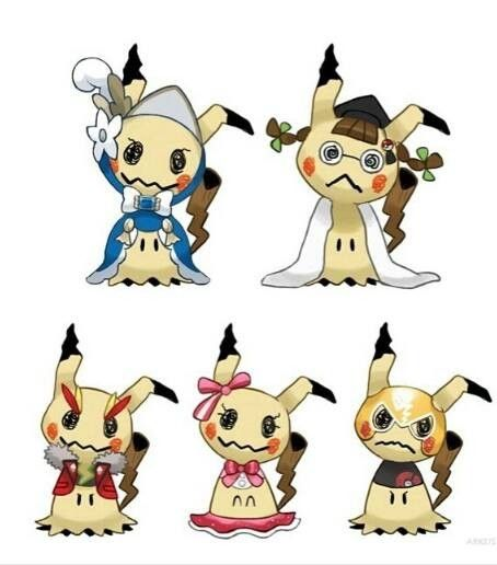 I think it's so sad that Mimikyu chooses to dress up as the Pokemon mascot so that it'll be loved!