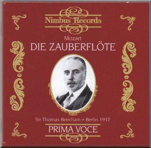 MOZART Die Zauberflote Beecham (1937) NI7827-8 [MC]: Classical CD Reviews - April 2010 MusicWeb-International