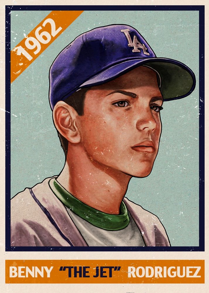 The Jet - by Cuyler Smith, L/E of 100. Justin. It's a Sandlot reference - one of my favorite movies from childhood. Also, I collect baseball cards so like yeah, this is dope AF.