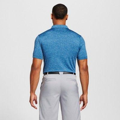 Men's Space Dye Golf Polo - C9 Champion Blue M