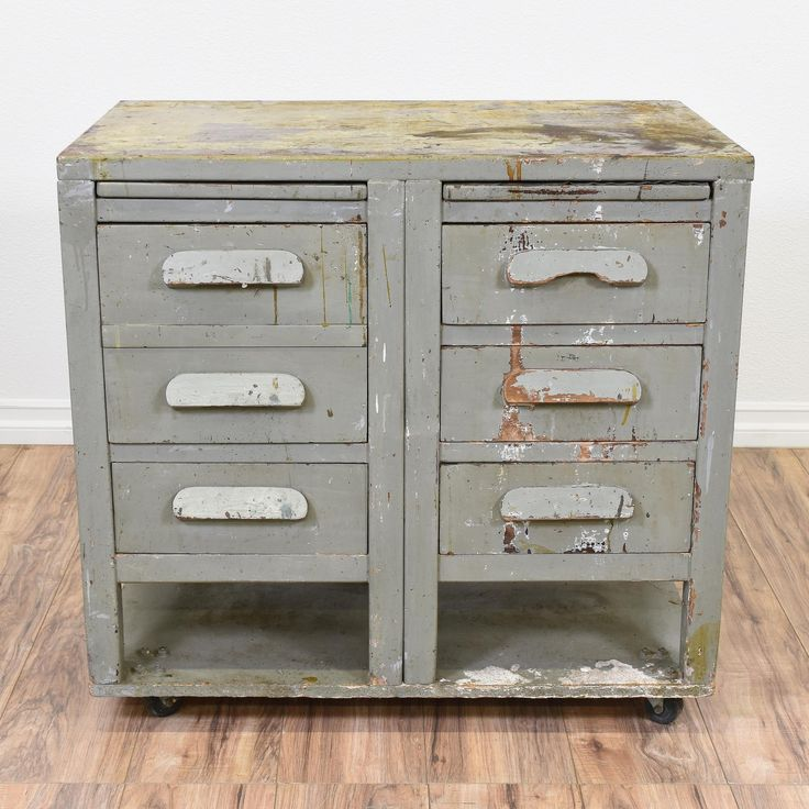 Industrial Style Solid Wood Square Storage Trunk 5 Drawer: 1000+ Ideas About Industrial Dresser On Pinterest