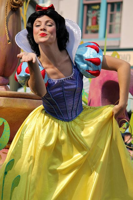 I've seen her as Belle, but not Snow White. She's very good at both  Snow White-Soundsational | Flickr