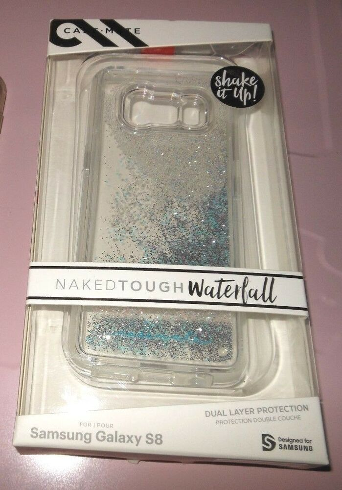 premium selection 79eb0 af429 Samsung Galaxy S8 Cell Phone Case-Mate Glitter Diamonds Naked Tough ...