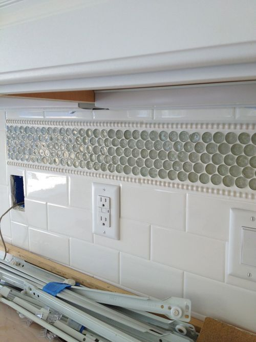 Tile Application For A Kitchen Backsplash I 39 D Love To Do Something Similar In Our Shower