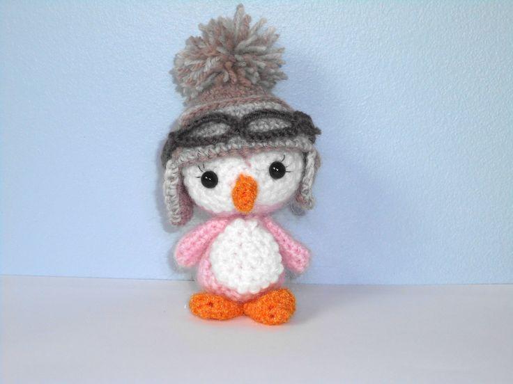 pingouin amigurumi fait main au crochet : Jeux, jouets par meme-croche