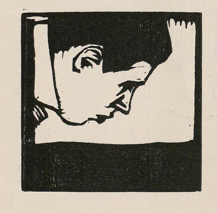 Koloman Moser (1868-1918), Porträt von Marcus Behmer