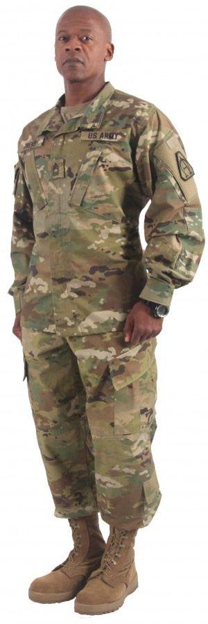 U.S. Army Pre Shaped Black & Maroon Beret: US Army OCP Uniform-Coat, Trouser, Cap, T-Shirt & ...