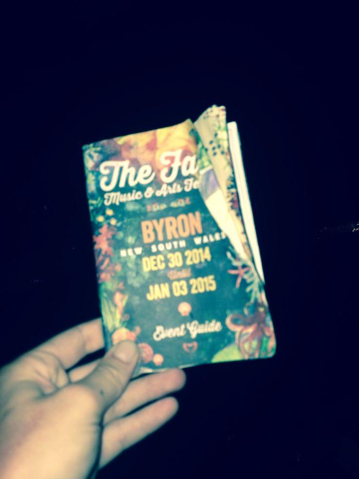 The Falls Festival, Byron Bay