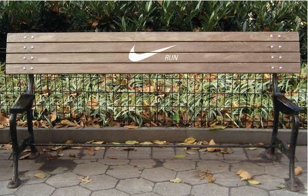 nike inspirational pictures | Motivational Nike Bench