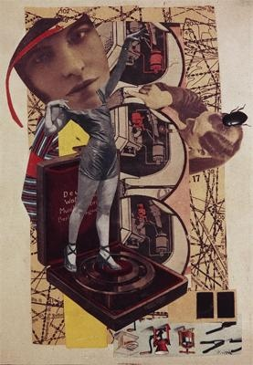 Pinned 30.6.13: Hannah Hoch - Untitled, 1921 (photomontage