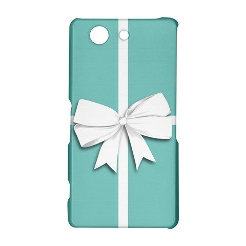 Tiffany Box Bow Sony Xperia Z3 Compact Case Hardshell