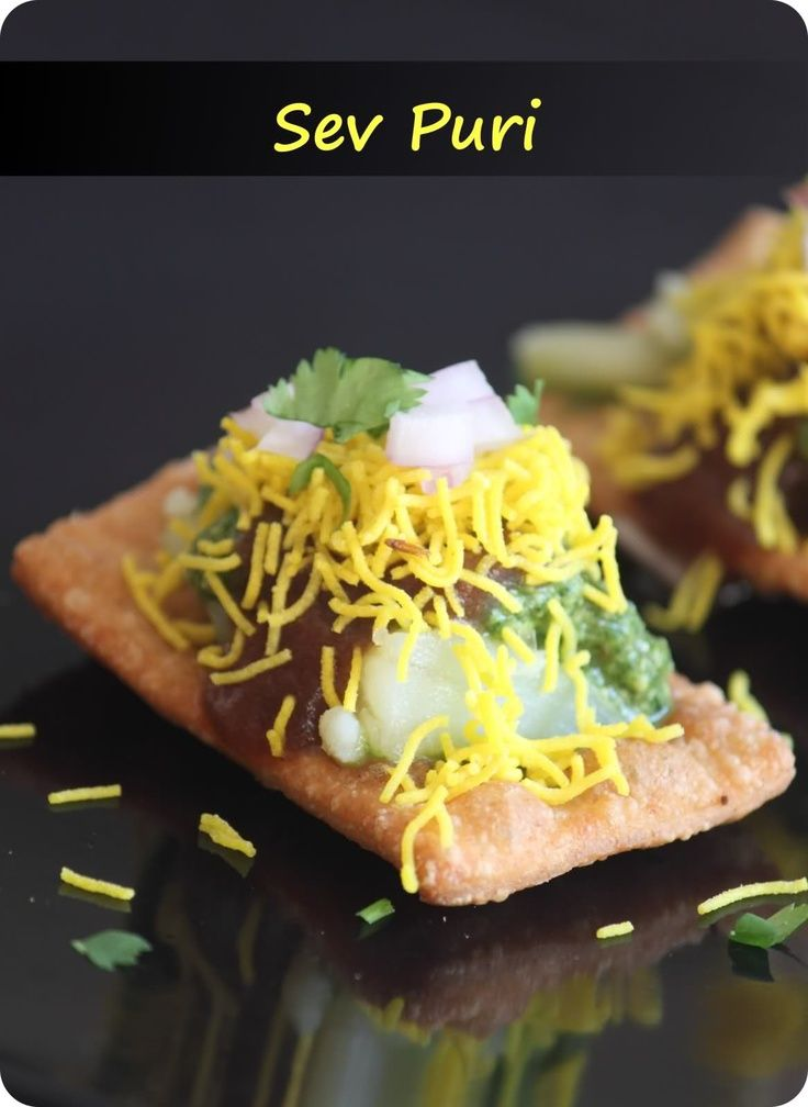 Sev Puri, no one can eat just one!