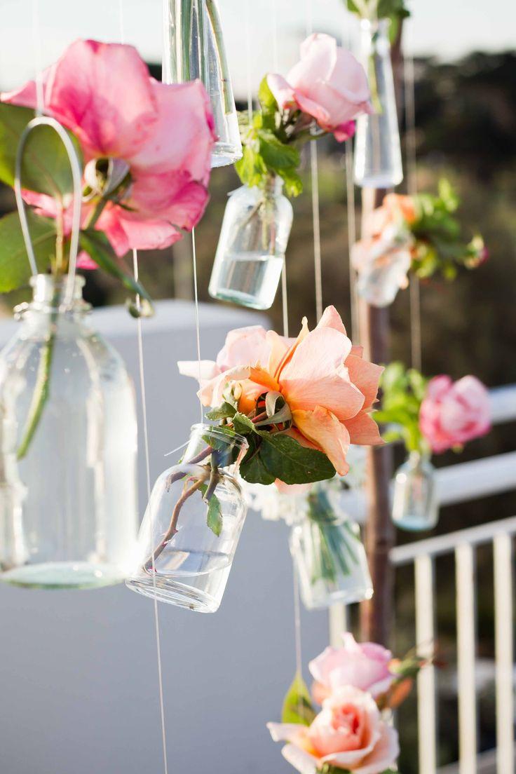 Hanging jars  www.flowerjar.com.au
