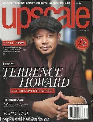 Upscale magazine Terrence Howard Empire Kenya Moore Billy Brown Jaguar Selma
