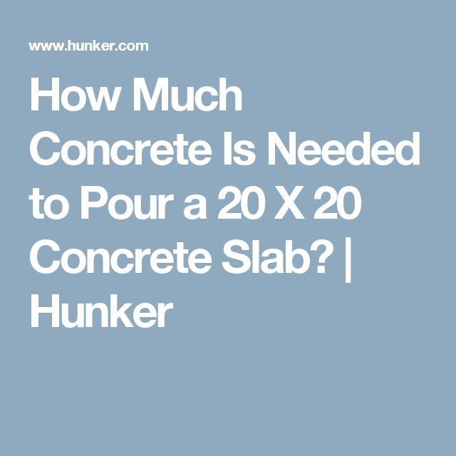 how to make a concrete slab foundation