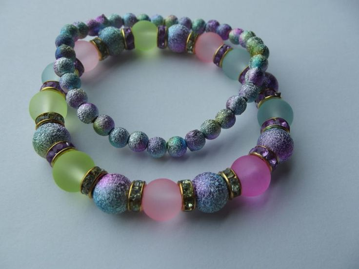Pastel Bracelet Set by Jewelryonthego