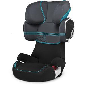 Cybex Solution X2 es la silla de Grupo 2/3 sin isofix con mejor valoración en los ensayos de choque europeos.  Esta silla mejora todavía más la seguridad añadiendo un cojín de absorción lateral para minimizar los riesgos del niño en caso de impactos laterales.