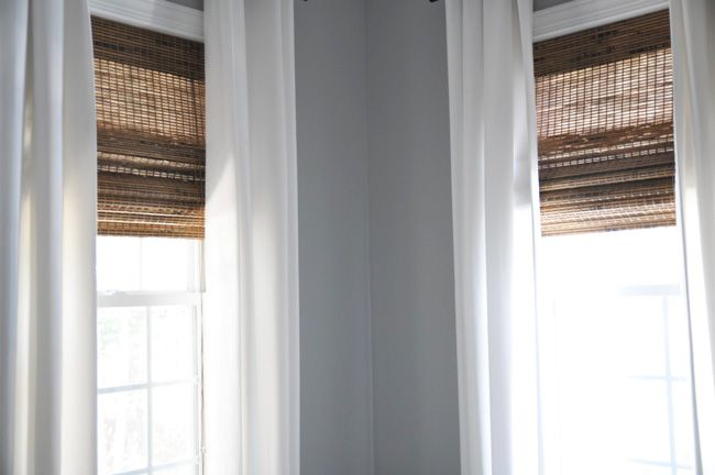Woven Roman blinds are my favorite window treatments; they work in almost every decorating style a...