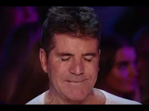 Simon Cries...Last  audition of the day Makes Simon Cowell Cry! - YouTube  There are 4 really good auditions here.  But, the one that made Simon cry starts at 10:54.