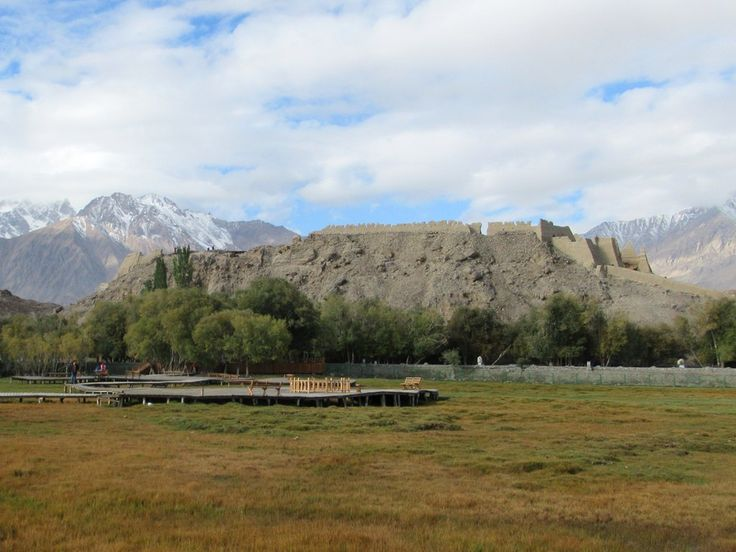 From the 6th century the Stone Fort at Tashkurgan, Xinjiang, China, occupied a stratergic location on a branch of the ancient Silk Road from China to South Asia.