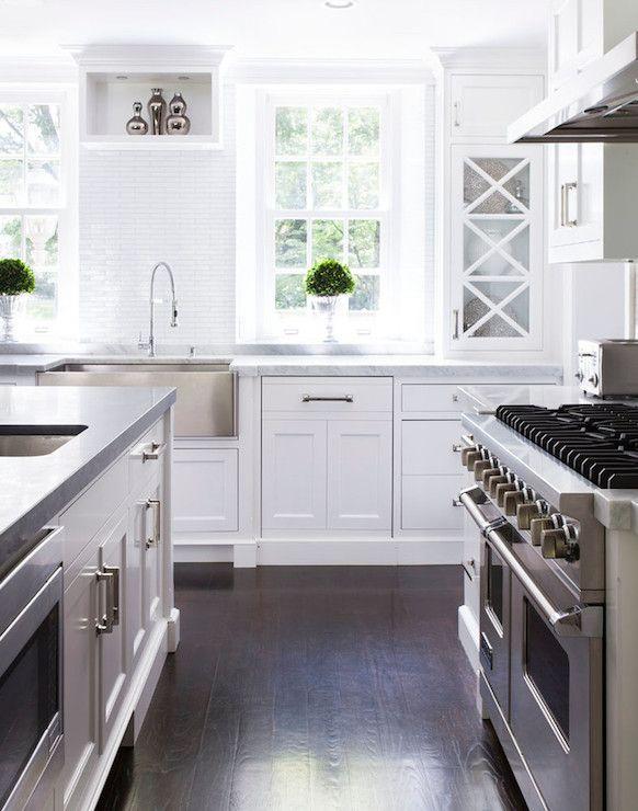 Susan Glick Interiors - kitchens - sandstone counters